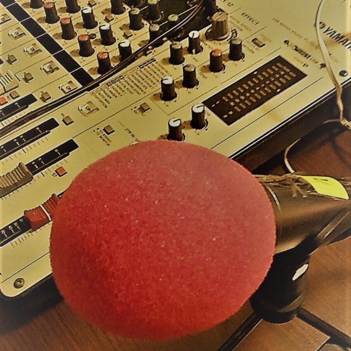 Микрофон и пулт